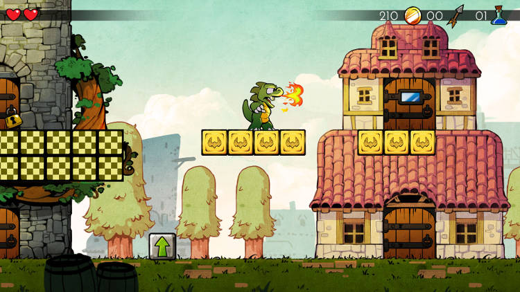 Un agradable paseo por el arte de WonderBoy: The Dragon's Trap