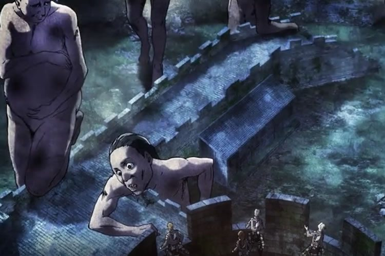 attack on titan 2x03 ataque titan