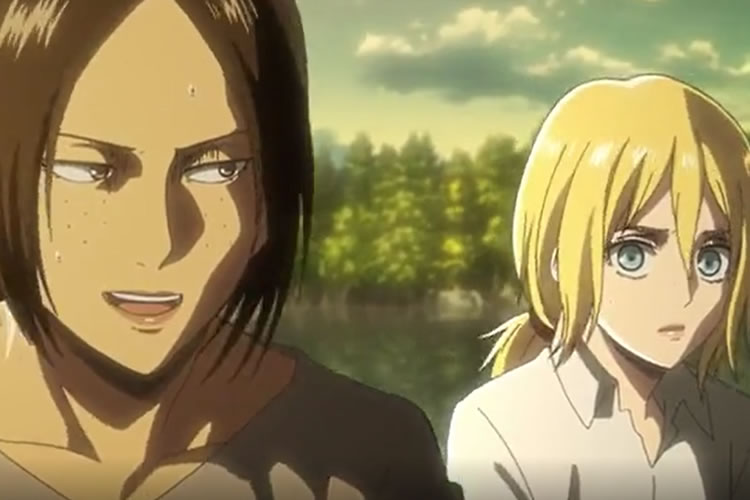 attack on titan 2x03 ymir y christa