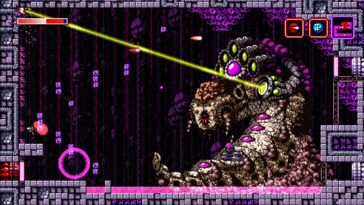 version fisica de axiom verge para nintendo switch