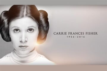 Homenaje a Carrie Fisher