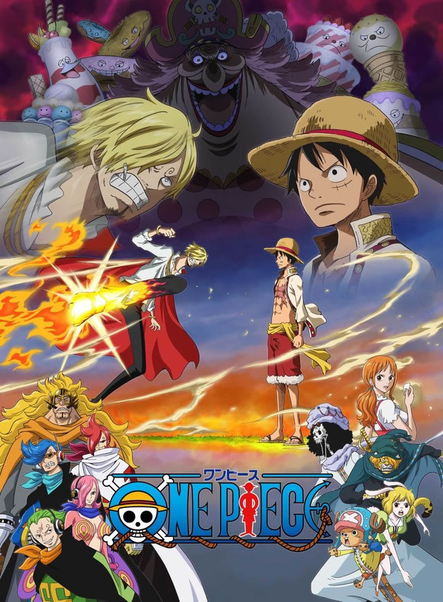 diseños del anime de one piece de whole cake island