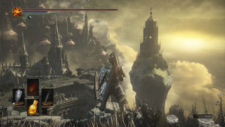 analisis de dark souls 3 the ringed city