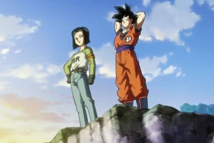 dragon ball super 87 goku y a17
