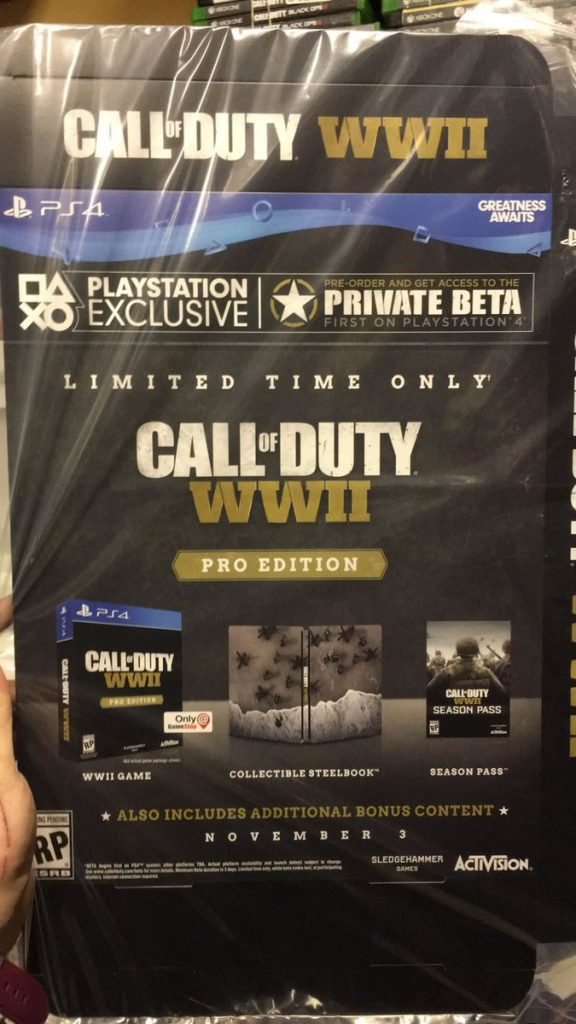 edicion pro de call of duty ww2