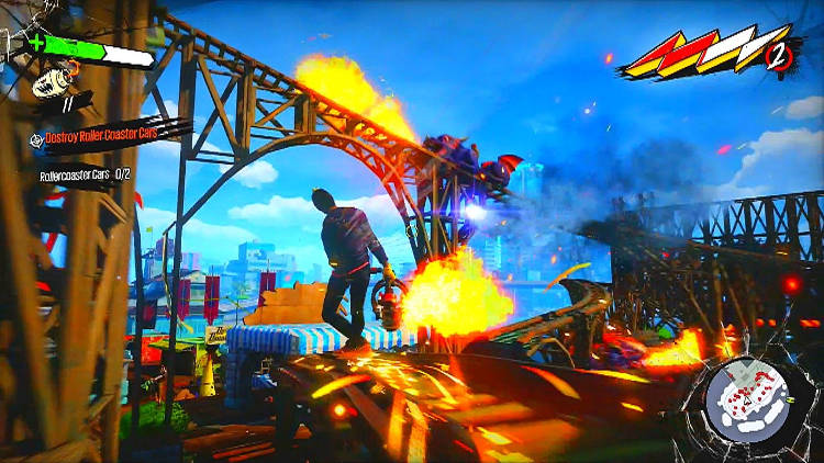 fecha aproximada de Spider-Man para PS4 Sunset Overdrive