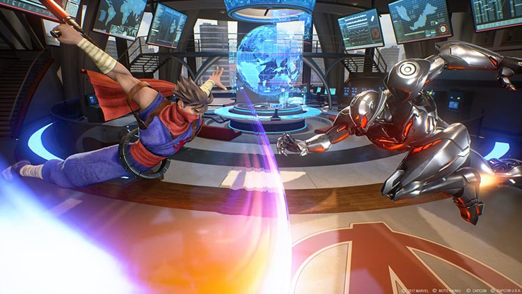 gameplay de Marvel vs Capcom: Infinite