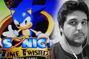 Gameplay de Sonic Time Twisted, videojuego fan de Sonic the Hedgehog