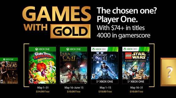 juegos con gold de mayo de 2017