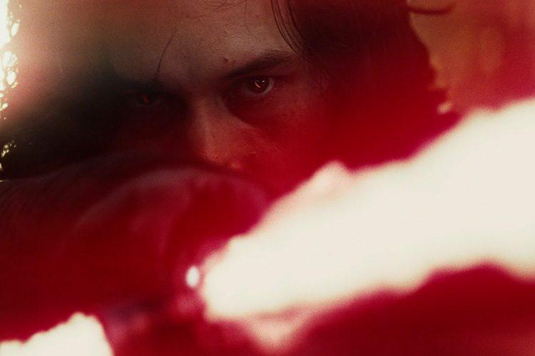 Cicatriz de Kylo Ren en Star Wars: Los últimos Jedi
