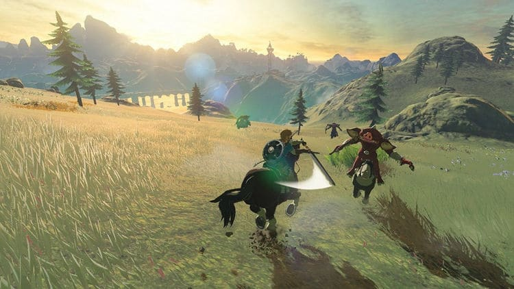 La nueva actualización de The Legend of Zelda: Breath of the Wild te hará todo más placentero
