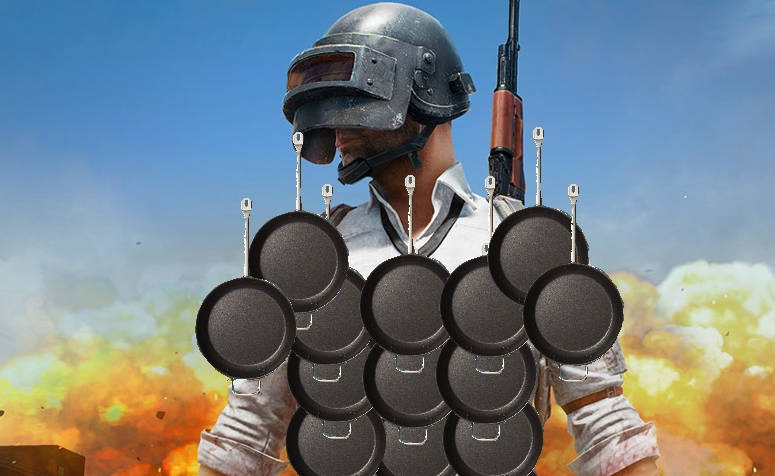 Sartenes de PlayerUnknown's Battlegrounds