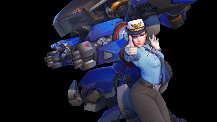 skins para overwatch de heroes of the storm