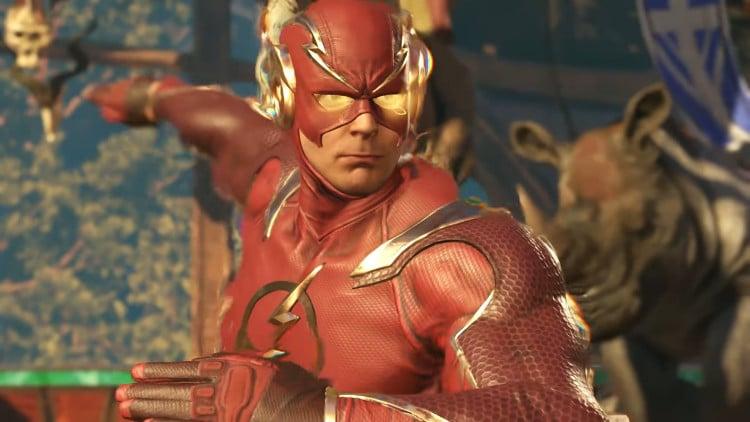 tráiler de The Flash en Injustice 2