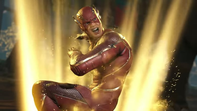 tráiler de The Flash en Injustice 2