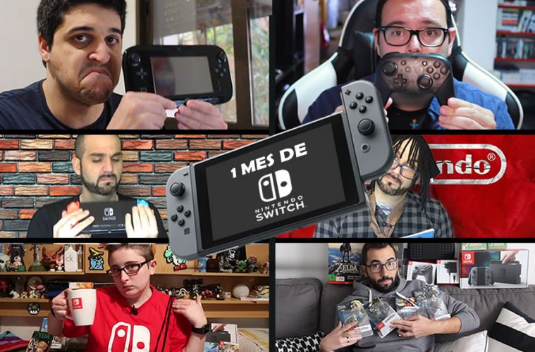un mes de nintendo switch web