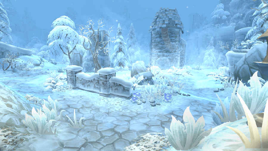 Destiny Chronicles mapa nevado 2