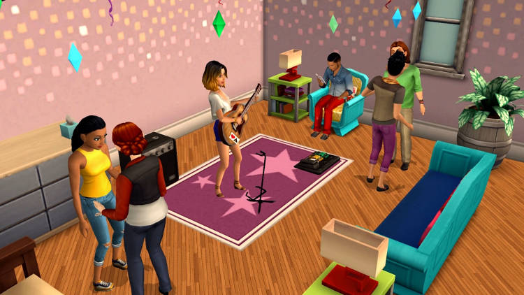Los Sims Mobile en iOS y Android