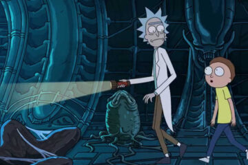 Rick y Morty en Alien Covenant