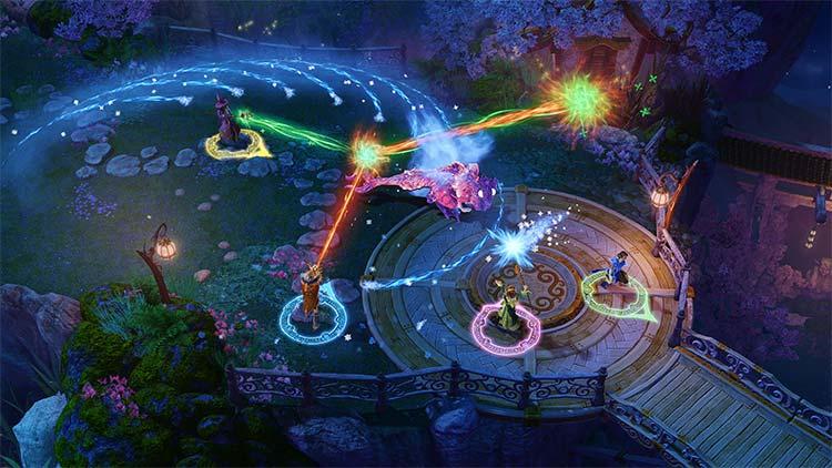 anuncio de Nine Parchments para Nintendo Switch