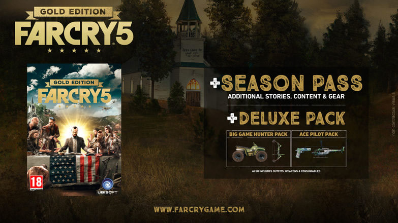 ediciones especiales de far cry 5 edicion gold
