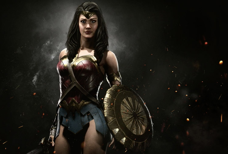 evento de Wonder Woman en Injustice 2