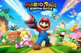 filtrado el arte de Mario + Rabbids Kingdom Battle