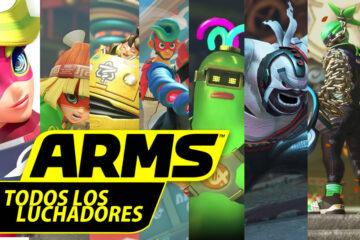 gameplays de arms de todos los luchadores