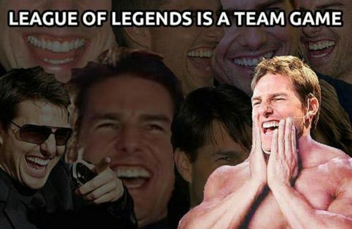 league of legends es un juego de equipo