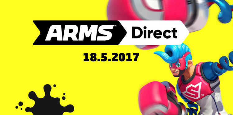 nintendo direct de arms