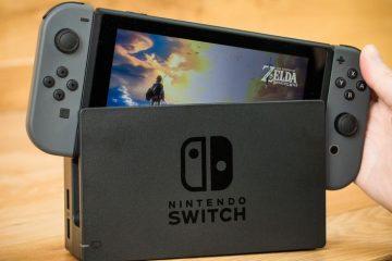 Nintendo Switch por correo aéreo