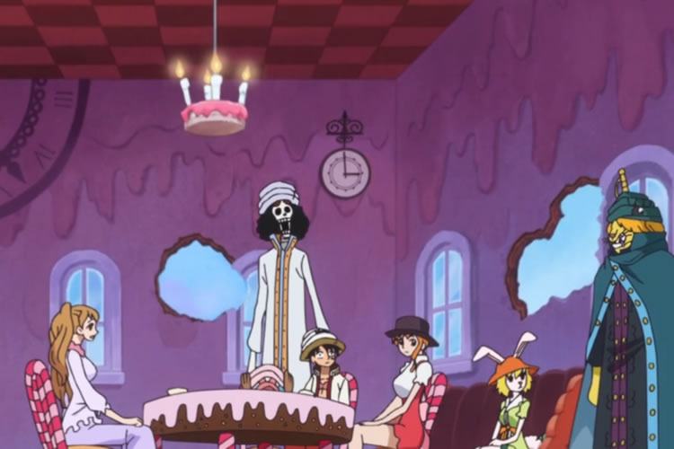 one piece 787 pudding