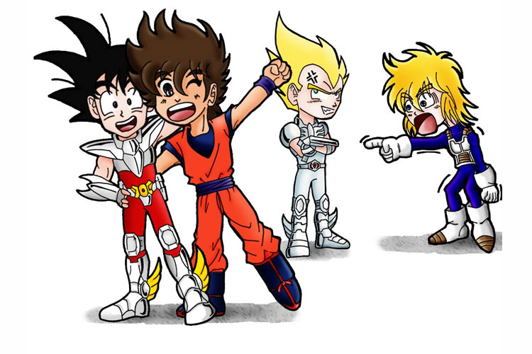 pelicula de accion real de saint seiya dragon ball