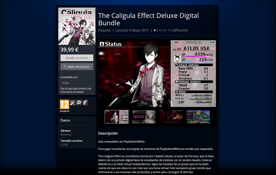 retraso de the caligula effect 2
