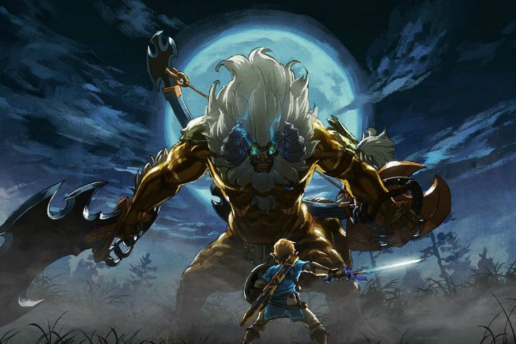 Como acceder al primer DLC de The Legend of Zelda Breath of the Wild