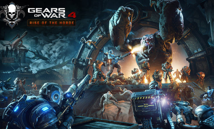 actualizacion rise of the horde de gears of war 4