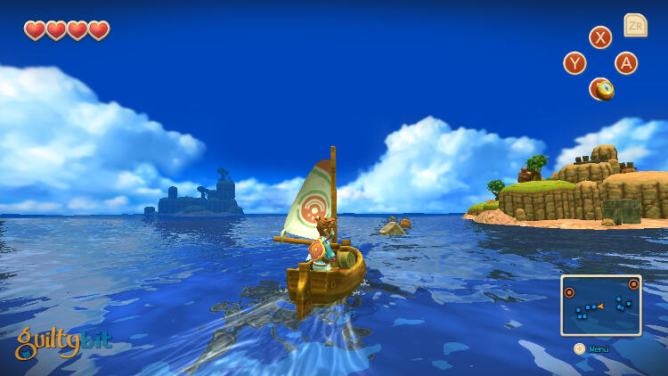 Análisis de Oceanhorn: Monster of Uncharted Seas para Nintendo Switch