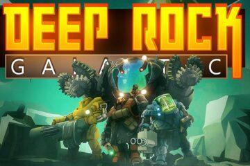anuncio de Deep Rock Galactic