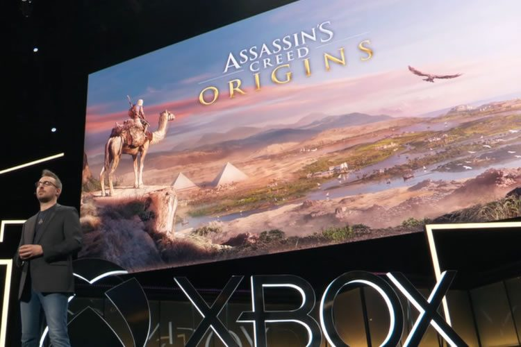 anuncio de Assassin's Creed Origins del E3