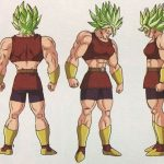Nuevos artworks de Caulifla y Kale en estado normal y Super Saiyan