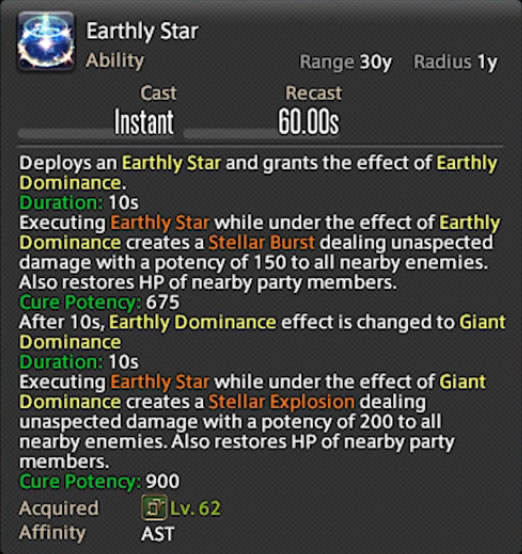 ast earthly star