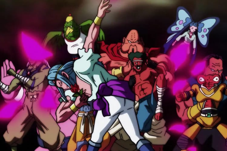 dragon ball super 96 universo 9