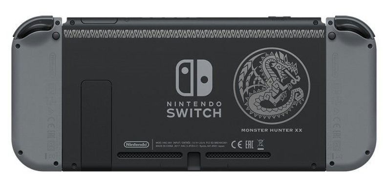 edición especial de Monster Hunter XX para Switch