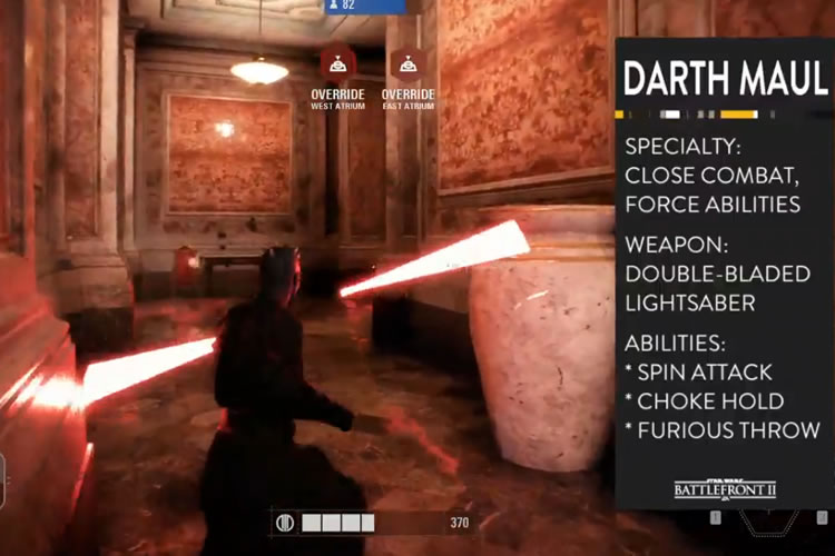 gameplay del multijugador de star wars battlefront ii