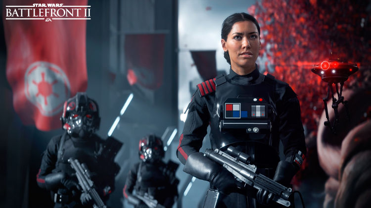 gameplay filtrado de Star Wars Battlefront 2