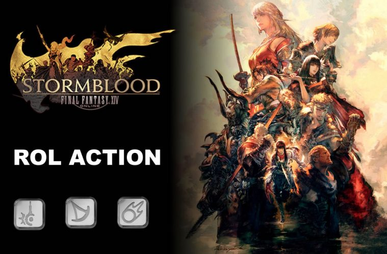 guia de final fantasy xiv stormblood rol action de CASTERS