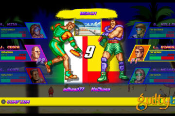 gameplay de la beta de windjammers para PLayStation 4