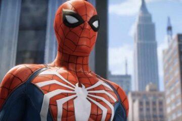 Logo blanco de Spider-Man