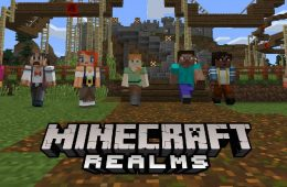 minecraft realmsn para nintendo switch