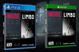 pack físico de Limbo e Inside